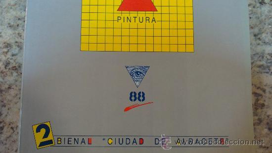 PINTURA./SEGUNDA EDICION/.BIENAL DE PINTURA (CIUDAD DE ALBACETE).AÑO1988. (Libros de Segunda Mano - Bellas artes, ocio y coleccionismo - Pintura)