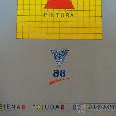 Libros de segunda mano: PINTURA./SEGUNDA EDICION/.BIENAL DE PINTURA (CIUDAD DE ALBACETE).AÑO1988.. Lote 29342750
