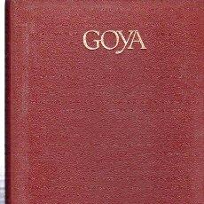 Libros de segunda mano: GOYA, GENIOS DEL ARTE, JEAN-FRANCOIS CHABRUN, CÍRCULO DE LECTORES, BARCELONA 1970. Lote 29784809