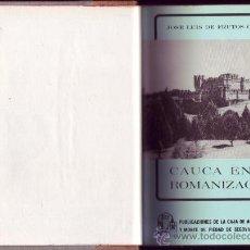 Libros de segunda mano: SEGOVIA. CONTIENE CINCO PUBLICACIONES DE LA CAJA DE AHORROS Y MONTE DE PIEDAD DE SEGOVIA.. Lote 29799348