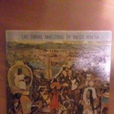 Libros de segunda mano: DIEGO RIVERA: SUS FRESCOS EN EL PALACIO NACIONAL DE MÉXICO (MÉXICO, 1968). Lote 29889264