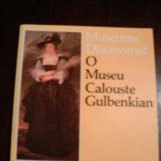 Libros de segunda mano: O MUSEO CALOUSTE GULBENKIAN, LISBOA - 1984. Lote 30194732