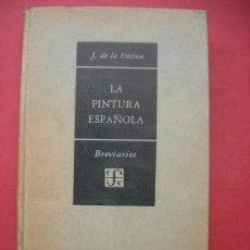 Libri di seconda mano: LA PINTURA ESPAÑOLA - J. DE LA ENCINA - BREVARIOS . Lote 30223255