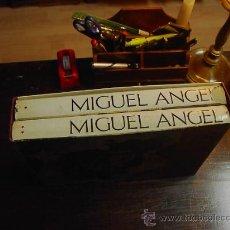 Livros em segunda mão: MIGUEL ANGEL, ARTISTA, PENSADOR. ESCRITOR. 2 TOMOS, ED. TEIDE.1978. Lote 30656068