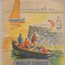 Libros de segunda mano: PAISAJES FLUVIALES. CUADERNO DE PINTURA. EDIT. SEIX Y BARRAL.. Lote 30908810