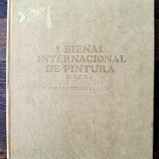 Libros de segunda mano: 1 BIENAL INTERNACIONAL DE PINTURA - PREMIO F. ESTRADA SALADRICH - BARCELONA 1967. Lote 31457906