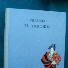 Libros de segunda mano: PICASSO. EL TRICORN. DIBUIXOS DELS DECORATS I DEL VESTUARI DEL BALLET DE MANUEL DE FALLA-1993 -1ª ED. Lote 31676419