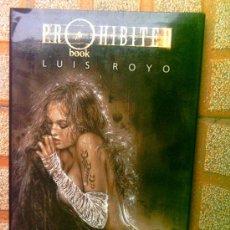Libros de segunda mano: PROHIBITED BOOK - LUIS ROYO --REFM3E3. Lote 143233322