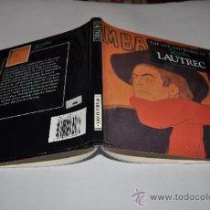 Libros de segunda mano: THE LIFE AND WORKS OF LAUTREC NATHANIEL HARRIS RA4707. Lote 31972963