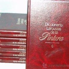 Libros de segunda mano: DICCIONARIO LAROUSSE DE LA PINTURA.-6TOMOS-OBRA COMPLETA. Lote 32041627