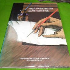 Libros de segunda mano: TEMATICA I POETICA EN L'OBRA ARTISTICA D'ANTONI MIRO. (1965-19839. JOAN GUILL.. Lote 32713296