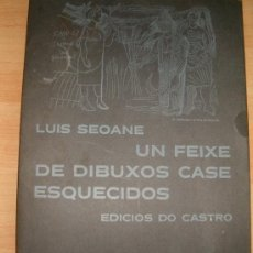 Libros de segunda mano: UN FEIXE DE DIBUXOS CASE ESQUECIDOS. LUIS SEOANE. EDICIÓS DO CASTRO, 1973. DESCATALOGADO. . Lote 51533661