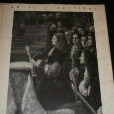 Libros de segunda mano: JUAN ANTONIO GAYA NUÑO. CLAUDIO COELLO. MADRID, INSTITUTO DIEGO VELÁZQUEZ, 1957. Lote 32836736
