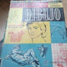 Libros de segunda mano: ENCICLOPEDIA DEL DIBUJO. VICENTE NAVARRO. TERCERA EDICION 1960. Lote 32905401