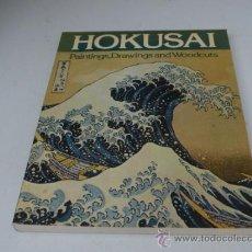 Libros de segunda mano: HOKUSAI: PAINTINGS, DRAWINGS AND WOODCUTS (NUEVO) MUY ILUSTRADO. Lote 33121255