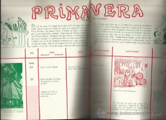 Libros de segunda mano: CALENDARI DE LES FESTES I TRADICIONS BARCELONA I RODALIES 1980 - Foto 4 - 33499869