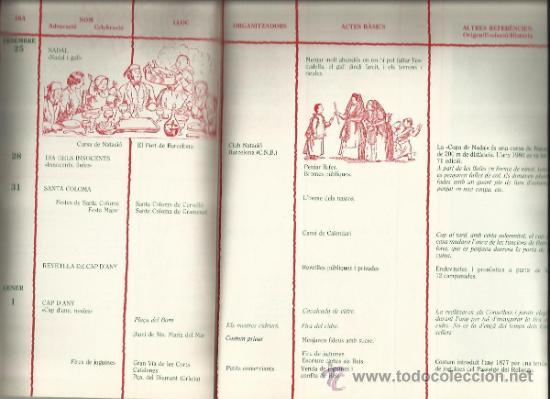 Libros de segunda mano: CALENDARI DE LES FESTES I TRADICIONS BARCELONA I RODALIES 1980 - Foto 5 - 33499869