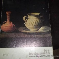 Libros de segunda mano: BODEGONES MUSEO DEL PRADO NUMERADA PAPEL ESPECIAL LAMINAS 30X40 AÑO 1973 VER FOTOS. Lote 33549926