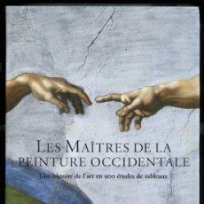 Libros de segunda mano: LES MAÎTRES DE LA PEINTURE OCCIDENTALE (TASCHEN, 2002). Lote 34093335