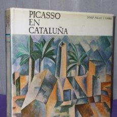 Libros de segunda mano: PICASSO EN CATALUÑA. Lote 34163316