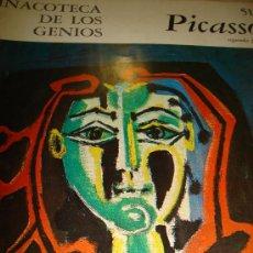 Libros de segunda mano: PINACOTECA DE LOS GENIOS, PICASSO 51 SEGUNDA PARTE, EDITORIAL CODEX, BUENOS AIRES 1965. Lote 202529925