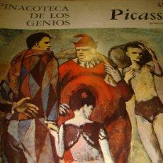 Libros de segunda mano: PINACOTECA DE LOS GENIOS, PICASSO 49 PRIMERA PARTE, EDITORIAL CODEX, BUENOS AIRES 1965. Lote 202529928