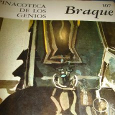 Libros de segunda mano: PINACOTECA DE LOS GENIOS, BRAQUE 107, EDITORIAL CODEX, BUENOS AIRES 1965. Lote 49201887