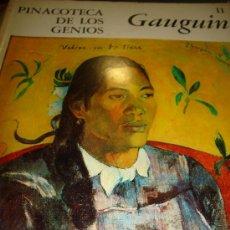 Libros de segunda mano: PINACOTECA DE LOS GENIOS, GAUGUIN 11, EDITORIAL CODEX, BUENOS AIRES 1965. Lote 49199497