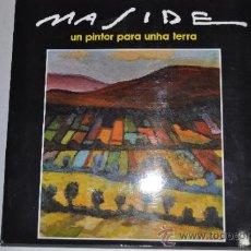 Libros de segunda mano: MASIDE. UN PINTOR PARA UNHA TERRA. VV.AA. RM60241. Lote 34846185