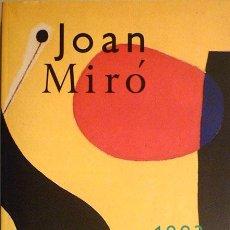 Libros de segunda mano: JOAN MIRÓ (1893-1993) CENTENARIO. Lote 34941628