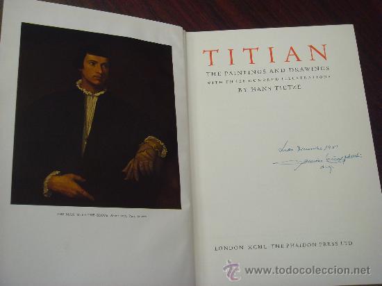 Libros de segunda mano: TITIAN. THE PAINTINGS AND DRAWINGS - Foto 2 - 35139519