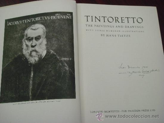 Libros de segunda mano: TINTORETTO. The paintings and drawings. - Foto 3 - 35139226