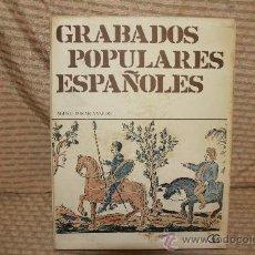 Libros de segunda mano: 2242- GRABADOS POPULARES ESPAÑOLES. AGUSTI DURAN. EDIT GUSTAVO GILI. 1971.. Lote 35229267