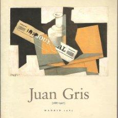 Libros de segunda mano - JUAN GRIS 1887-1927 - 35242017