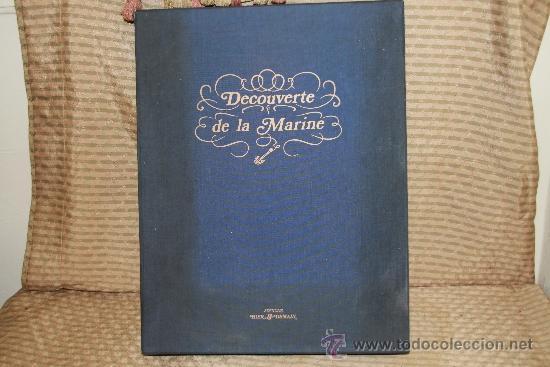 2259- DECOUVERTE DE LA MARINE. ANDRE ROSSELL, JEAN VIDAL. EDIT. HIER DEMAIN. 1973. (Libros de Segunda Mano - Bellas artes, ocio y coleccionismo - Pintura)