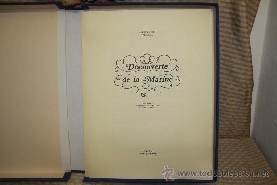 Libros de segunda mano: 2259- DECOUVERTE DE LA MARINE. ANDRE ROSSELL, JEAN VIDAL. EDIT. HIER DEMAIN. 1973. - Foto 2 - 35248740