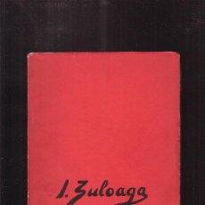 Libros de segunda mano: EXPOSICION ZULOAGA /EDITA: AMIGOS ARTE 1962. Lote 35400306