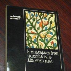 Libros de segunda mano - CONTRIBUCIÓN AL ESTUDIO DE LA MINIATURA EN LEÓN Y CASTILLA EN LA ALTA EDAD MEDIA. - 35416934