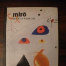 Libros de segunda mano: MIRÓ --- ROLAND PENROSE. Lote 36417013