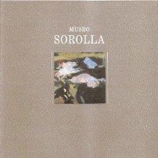 Libros de segunda mano: MUSEO SOROLLA /// FLORENCIO DE SANTA-ANA. Lote 36293100