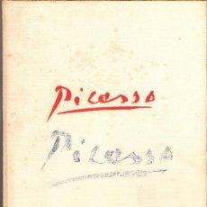 Libros de segunda mano: PICASSO. EDICIONES DAIMON.MANUEL TAMAYO.1ª ED.1966.CARTONÉ TELA.28'5 X 21'5 CMTRS.96 PÁGINAS.. Lote 36439571