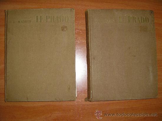 LE PRADO-TOMOS I Y II - MUSEES ET MONUMENTS D,EUROPE-PAR MANUEL LORENTE- (Libros de Segunda Mano - Bellas artes, ocio y coleccionismo - Pintura)