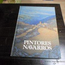Libros de segunda mano: PINTORES NAVARROS III, CAJA AHORROS MUNICIPAL DE NAVARRA. Lote 36540918