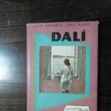 Libros de segunda mano: JUAN ANTONIO GAYA NUÑO, SALVADOR DALI, ED. OMEGA, 1954. Lote 36714361
