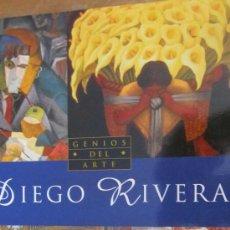 Libros de segunda mano: GENIOS DEL ARTE. DIEGO RIVERA (SUSAETA). Lote 37430254