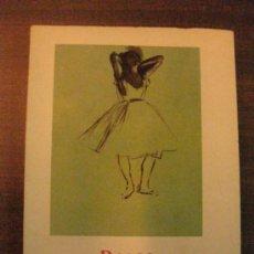 Libros de segunda mano: DEGAS. BAILARINAS. EDITORIAL GUSTAVO GILI 1956. 15 X 11. Lote 37438695