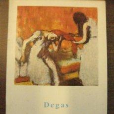 Libros de segunda mano: DEGAS. MUJERES. EDITORIAL GUSTAVO GILI 1958. 15 X 11. Lote 37438816