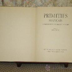 Libros de segunda mano: 3418- PRIMITIFS FRANÇAIS. GERMAIN BAZIN. EDIT. ALBERT SKIRA. S/F. . Lote 37684748