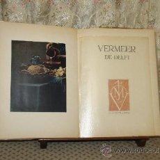 Libros de segunda mano: 3419- VERMEER DE DELFT. LA GALERIE DE LA PLEIADE. LIB. GALLIMARD. 1952.. Lote 37684897