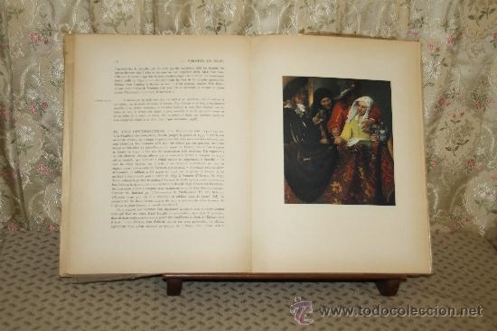 Libros de segunda mano: 3419- VERMEER DE DELFT. LA GALERIE DE LA PLEIADE. LIB. GALLIMARD. 1952. - Foto 4 - 37684897